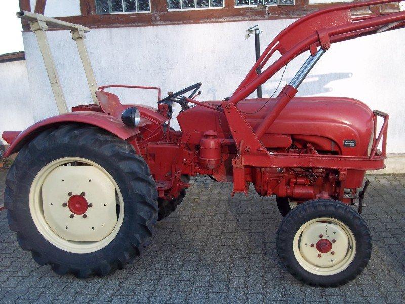 porsche porsche diesel 217 mit frontlader traktor gebrauchte traktoren und landmaschinen. Black Bedroom Furniture Sets. Home Design Ideas