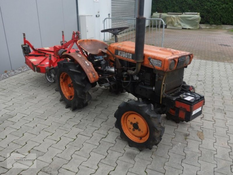 kubota b6000 allrad mit m her traktor 46325 borken. Black Bedroom Furniture Sets. Home Design Ideas